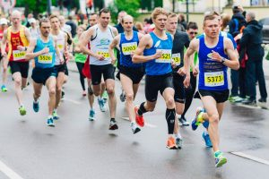 The Marathon runners - Mental Health, Fitness, and needing to #beinspired
